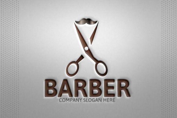 Barber Logo by josuf on Creative Market
