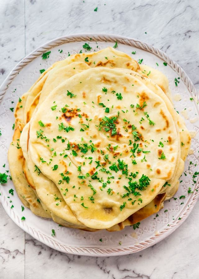 Nothing is better than homemade bread and that applies to this Indian-style Naan Bread, so simple to make, yet so delicious!