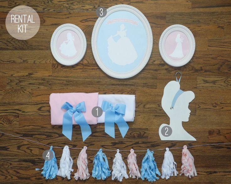 Once Upon A Time Hostess Kit   Princess Birthday   Princess Party Decor   Royal Princess Birthday Kit