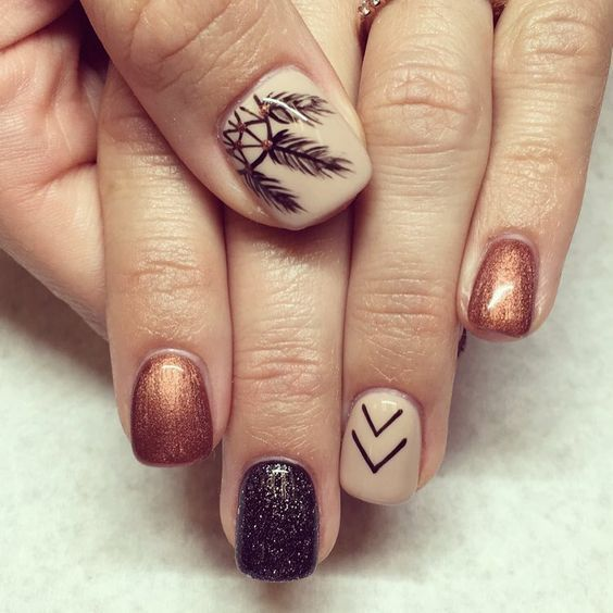 Fall Pedicure Designs: 25+ Unique Fall Nail Designs Ideas On Pinterest