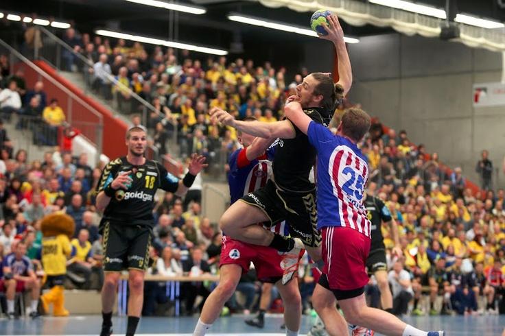16.03.2013 EHF Cup: Rhein-Neckar Löwen vs. HC Motor Zaporozhye 35:22