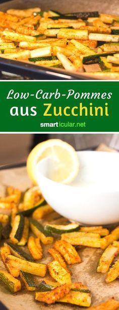 Low-Carb-Pommes aus Zucchini: Rezept zum Selbermachen