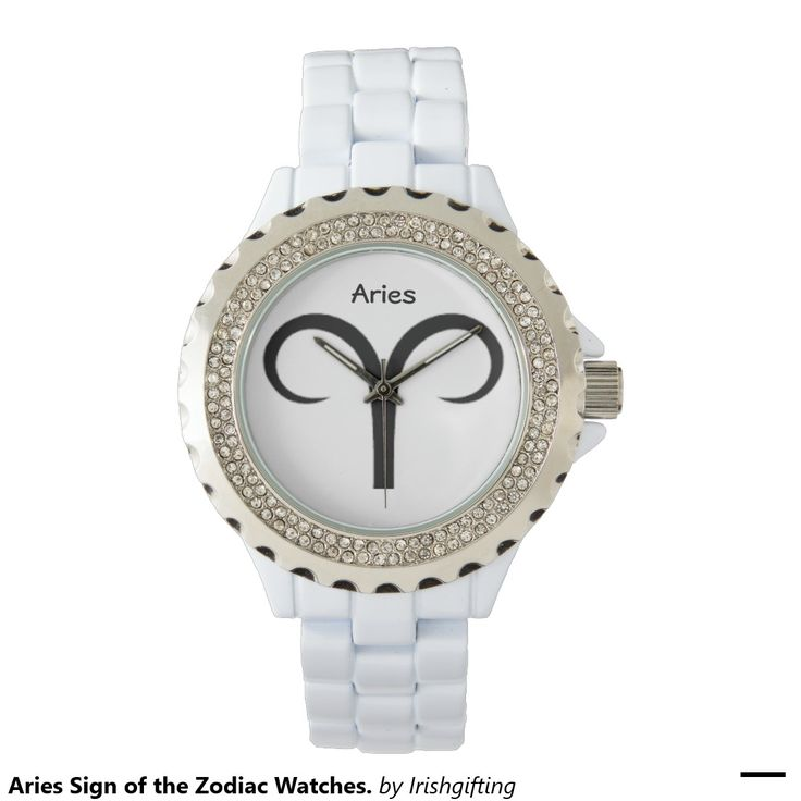 Aries Sign of the Zodiac Watches. Wristwatch