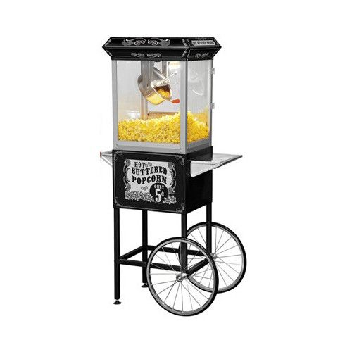 Funtime Popcorn Machines 8 oz. Sideshow Hot Oil Kettle Popcorn Machine & Reviews   Wayfair