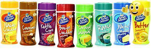 #Kernel Season's Full-Size Jars Seasoning Variety Pack, 2.4-3.0 Ounce Shakers (Pack of 8)