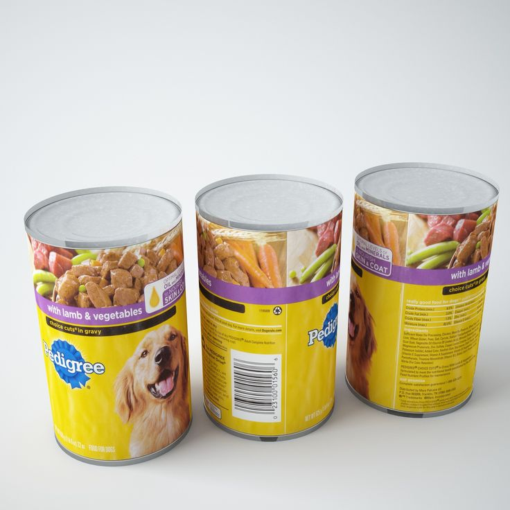 Max Pedigree Dog Food - 3D Model
