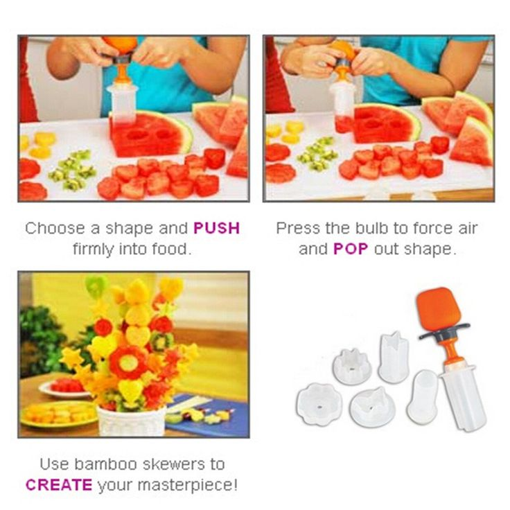 Whism diy plastic canape cutter food shaper molds maker for Canape maker