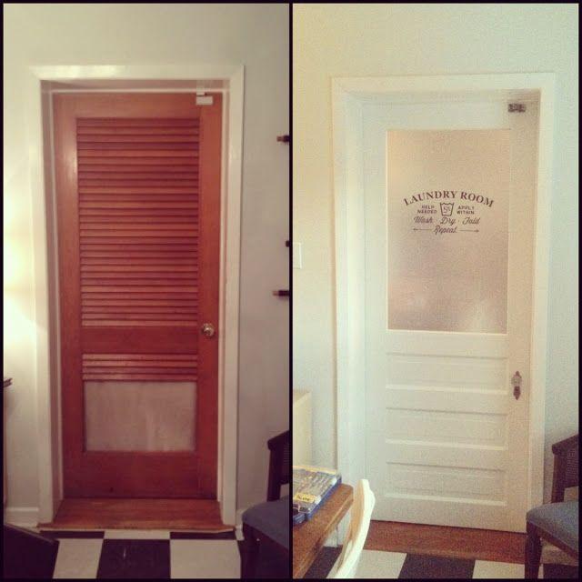 Mid Century Mod Squad Laundry Room Door Part 2