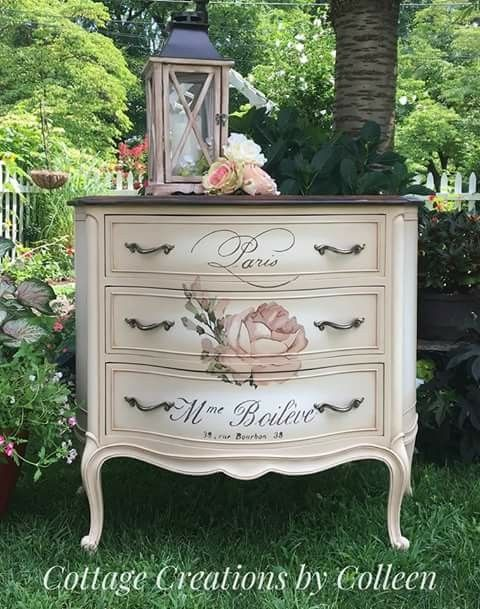 Refurbished Furniture, Furniture Makeover, Antique Furniture, Furniture  Ideas, Image Transfers, Prima - Pin By Katie Mcquown On Decals And Transfers In 2018 Pinterest