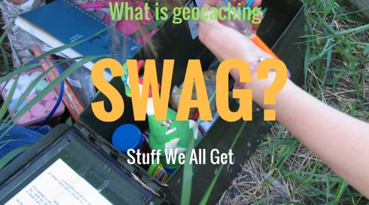 What is Geocaching Swag? - Geocaching Containers