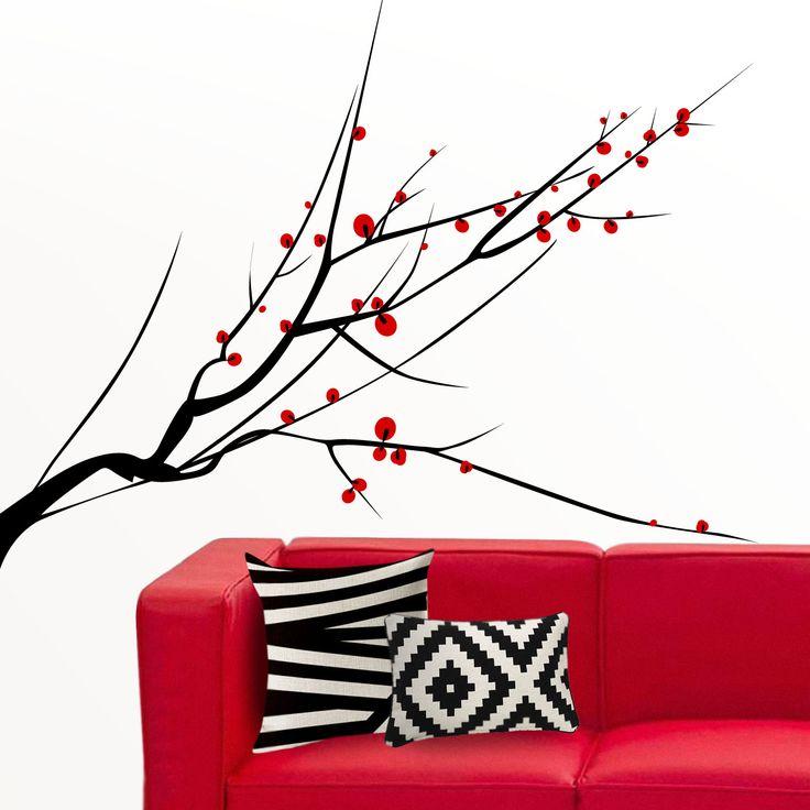 Vinilo decorativo árbol para la pared. Árbol japonés en vinilo. Ideas decoración Feng Shui http://dolcevinilo.es/vinilo-arbol-japones Desde 29.90€ $31 #vinilosdecorativos #viniloflores #vinilofloral #decoracion #ideasdecoracion #vinilosalon #decoracionsalon #ideas #florvinilo #viniloflor #salon #dormitorio #vinilosdecorativo #vinilospared #viniloarbol #vinilosarbol #vinilosaarboles #arbolvinlo #arbolesvinilo #fengshui #decoracionfengshui