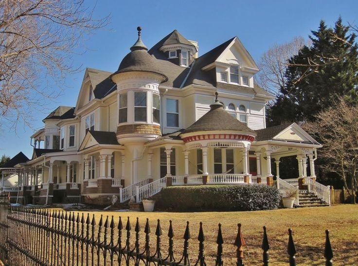 Palatial victorian home.
