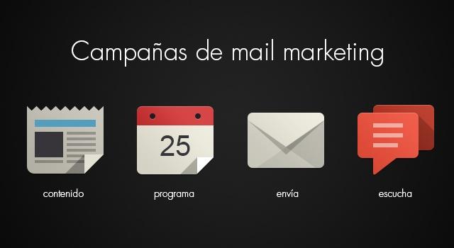 Desarrollamos campañas de email marketing   Deja que te conozcan! #minimalpost
