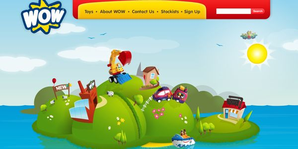 #child #Designs #friendly #interface #kids #navigation #website #inspiration #creative #interaction #adults