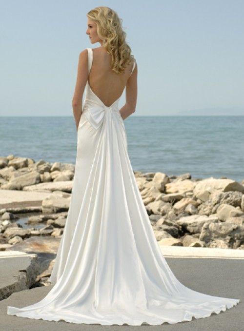 110 best Silk Wedding Dresses images on Pinterest | Gown wedding ...