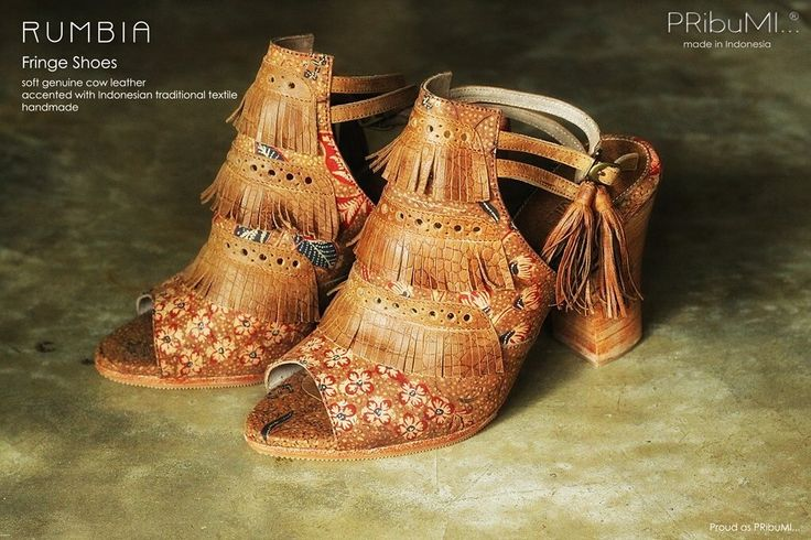 RUMBIA Fringe Shoes by PRibuMI...®