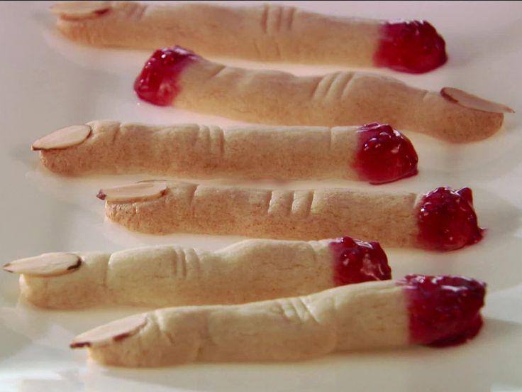 Witch Finger Cookies recipe from Giada De Laurentiis via Food Network