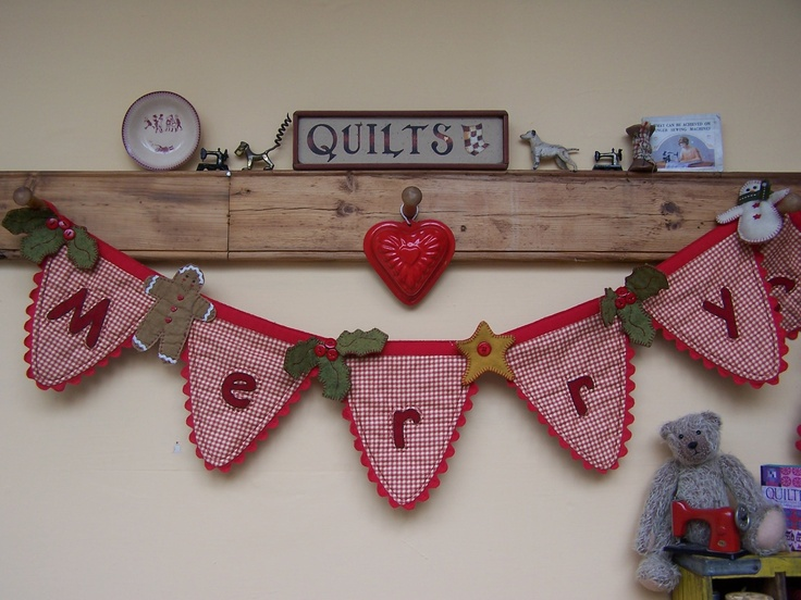 Mandy Shaw 'Merry Christmas' Bunting!