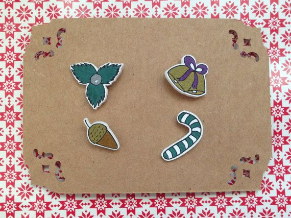Christmas  New Year Themed Metallic Coloured Collar by HappyMarker