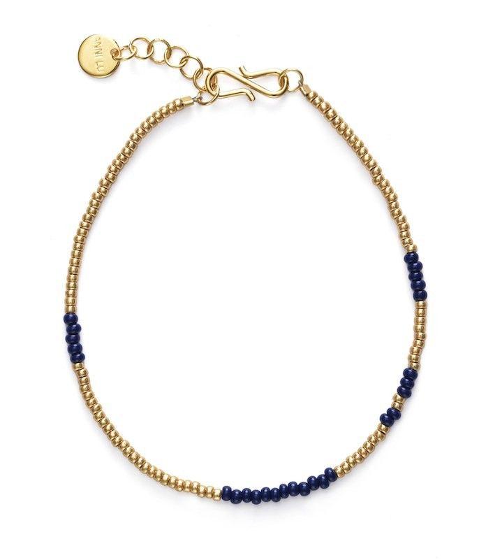 ANNI LU ASYM bracelet / navy