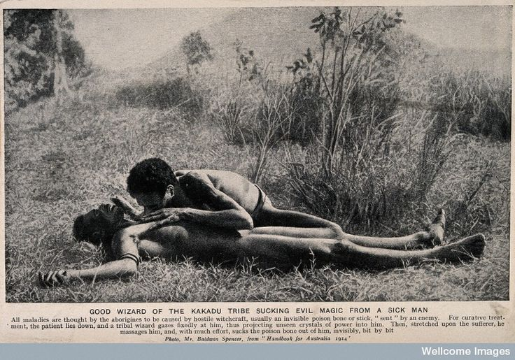 An Aboriginal medicine man or shaman from the Kakadu tribe s