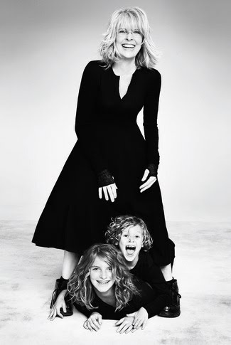 Diane Keaton and her children, Dexter and Duke