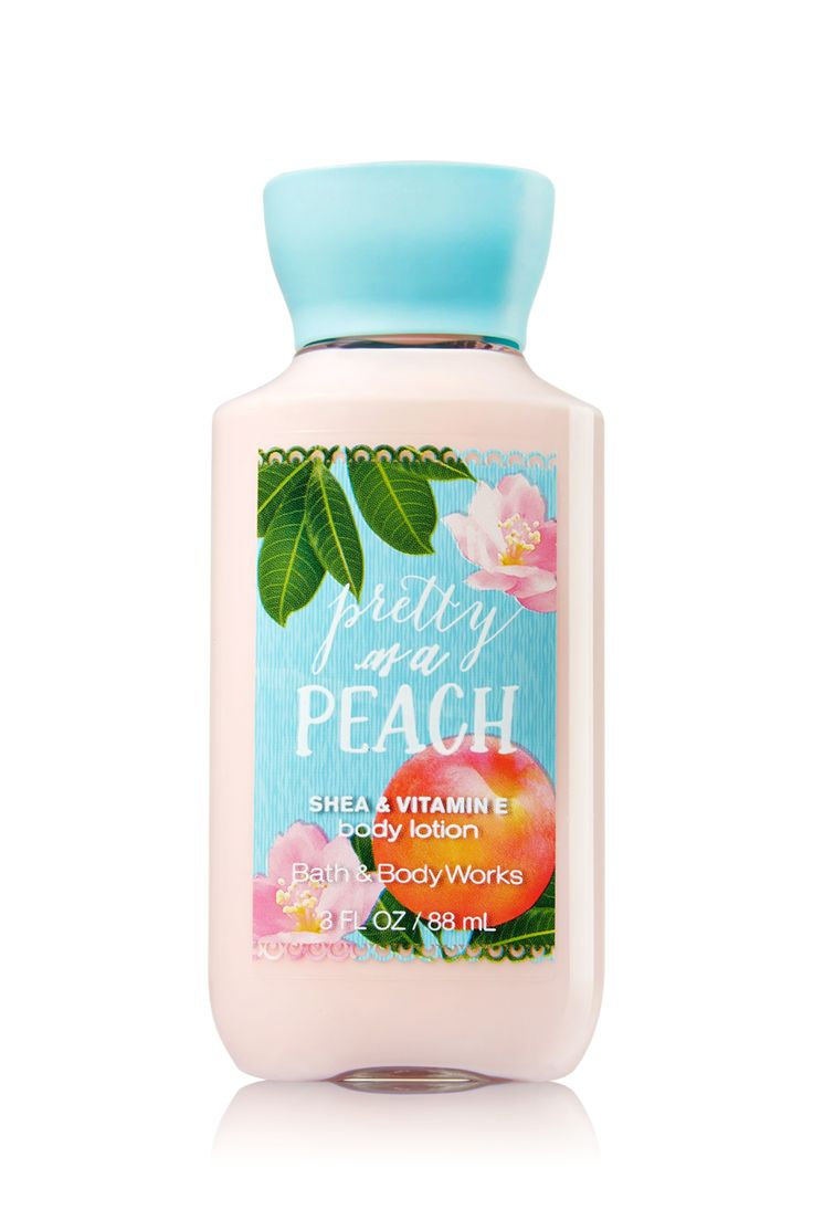 Pretty as a Peach Travel Size Body Lotion - Signature Collection - Bath & Body Works