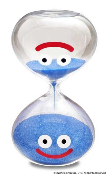 Dragon Quest Slime hourglass from the Square Enix e-STORE.