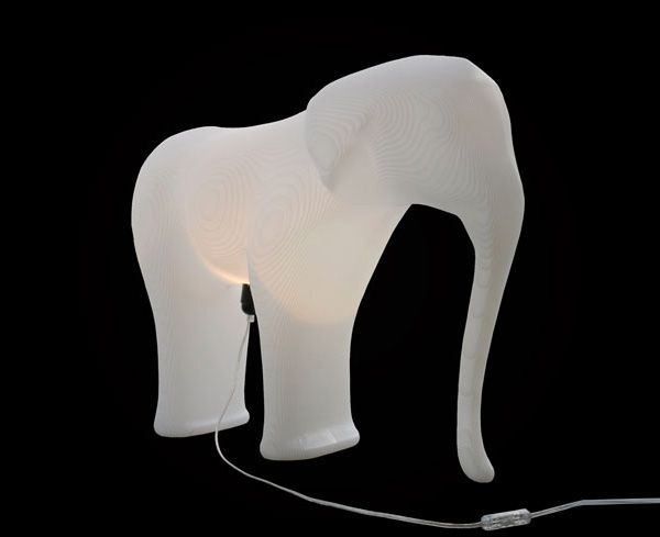 lamp Low Res Elephant by Richard Hutten   Ngispen