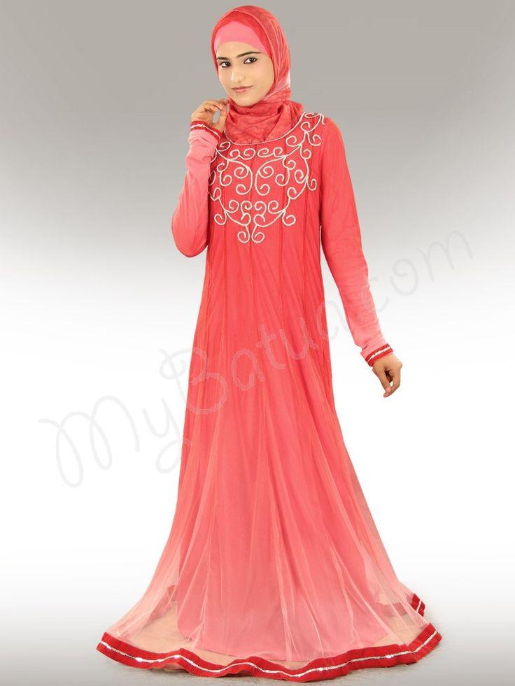 Buy Fareeda Bridal Abaya | MyBatua Islamic Clothing Online http://www.mybatua.com/