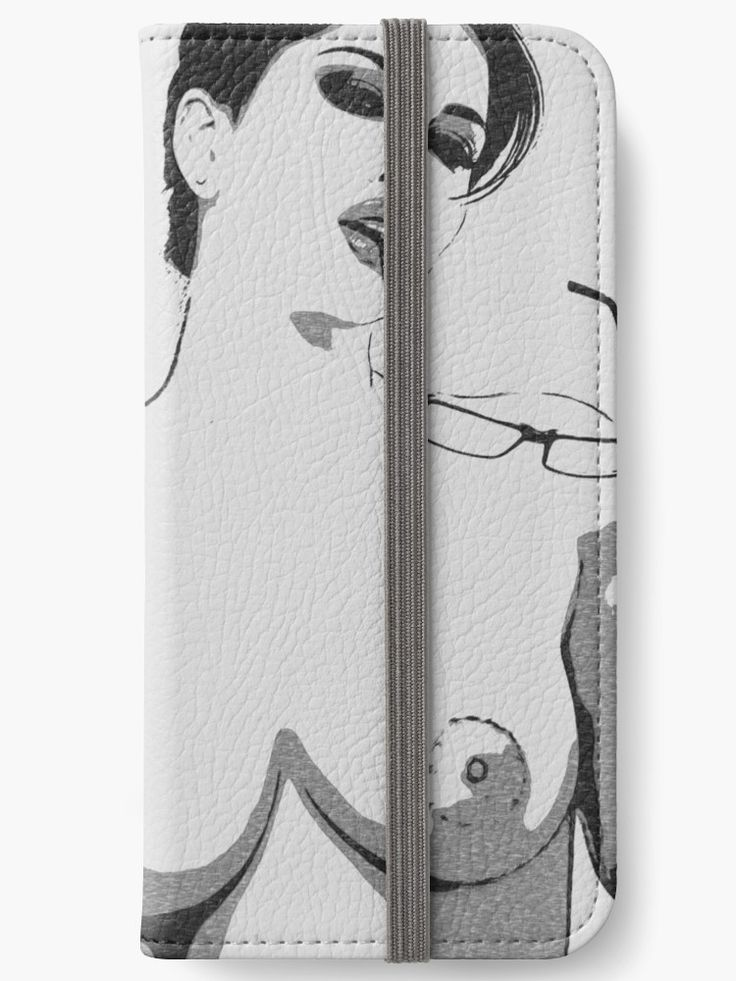 Nerdy is the new sexy, black and white erotic nude. • Also buy this artwork on phone cases, apparel, stickers, and more.