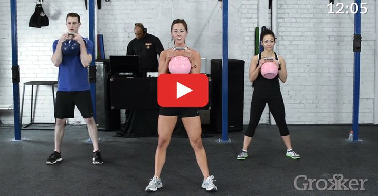 But here, when we say high-intensity, we're not kidding http://greatist.com/move/hiit-kettlebell-workout