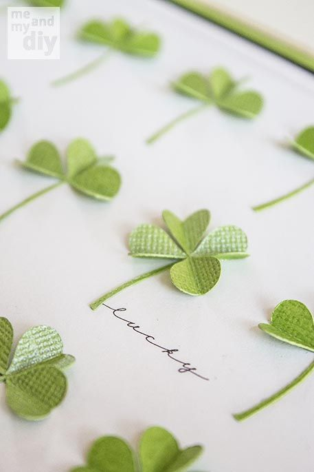 March Lucky Shamrock Calendar and Free Downloadables at Me and My DIY  LOVE HER STUFF!!