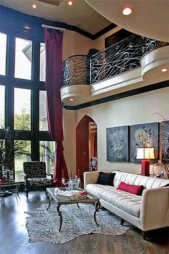 gorgeous living room designed by Champagne Chic Interiors