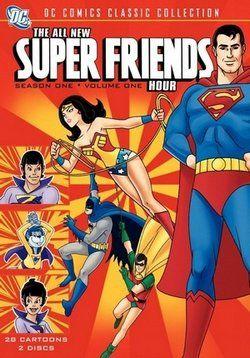 Абсолютно новый час Супердрузей — The All-New Super Friends Hour (1977-1978) http://zserials.cc/multserialy/the-all-new-super-friends-hour.php  Год выпуска: 1977-1978 Страна: США Жанр: мультфильм, фантастика, боевик, приключения, семейный Продолжительность:1 сезон Описание Сериала:  Продолжение приключений Лиги Справедливости, в новом мультсериале заменили Марвина, Венди и Чудо Пса на Чудо-Близнецов Зана и Занью с планете Эксор которые обладают силой изменять форму. Зан может принять любую…