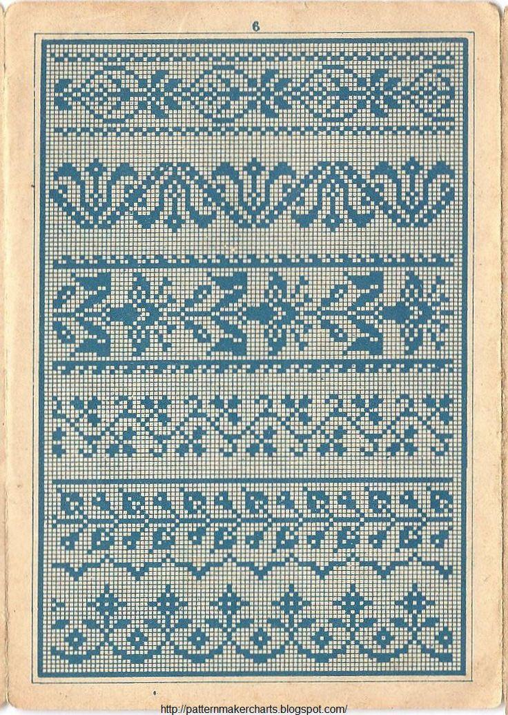 Εύκολη Δωρεάν Σταυρού, μοτίβων, PCStitch Γραφήματα + Δωρεάν ιστορική παλιά βιβλία μοτίβο: Όχι Sajou 657