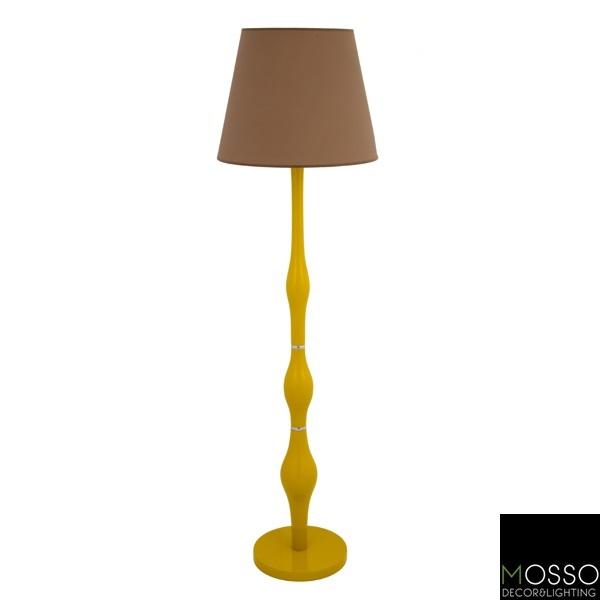 Oasis Floor Lamp (Lambader) Wooden Floor Lamp -Handcrafted