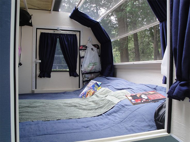 DIY Teardrop Trailer - what a great window!