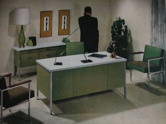 retro office design. 1961 Retro Office Design