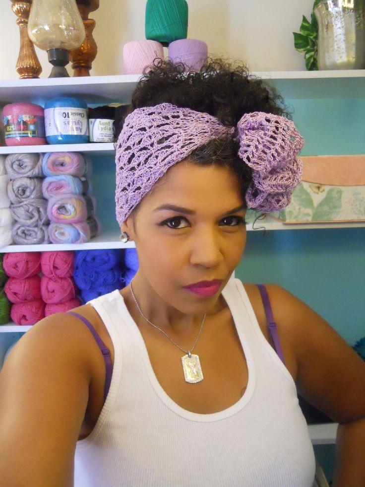 33 best Crochet Head Wraps & Turban Collection images on Pinterest ...