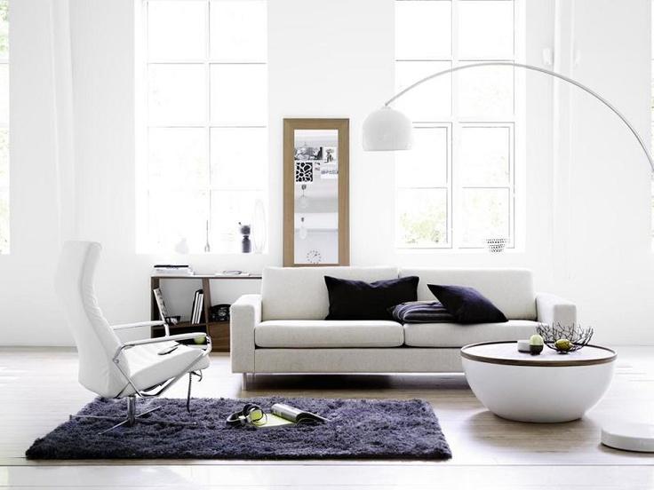 Scandinavia 3 pers sofa interi r pinterest sofas for Lampen scandinavian design
