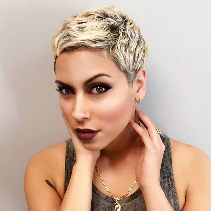 how to put highlights in a pixie cut