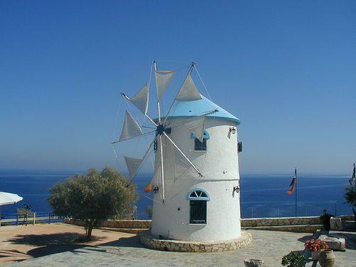 Windmill At Skinari, Zakynthos