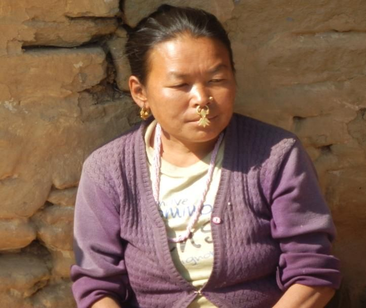 Lady from near by village close to Pelling in Sikkim, India. http://www.TaoJourneys.com