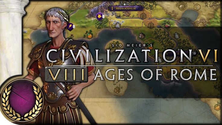 "8 Ages of Rome | Introduction  Episode 1 | ""8 Ages of Pace"" Mod Gameplay 