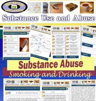 Health - Substance Use & Abuse - Smoking, Drugs, Drinking
