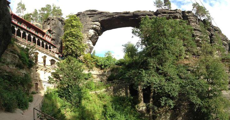 Pravčická Brána, Bohemian Switzerland's beautiful stone arch