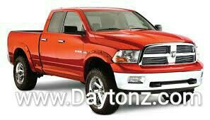 Bushwacker Fender Flares Truck Accessories Restyling Tulsa, Hitches plugs spray in liners mud flaps bug shields lights floor mats lift kits ball mounts fender flares tonneau serving Tulsa and the surrounding areas since 1987.  We sell and install the best quality and priced aftermarket Truck, Jeep and SUV accessories on the market. Daytonz Hitch & Truck Accessories Midtown Tulsa Oklahoma 2920 S. Yale Ave Tulsa, OK 74114  918-744-0341 www.Daytonz.com www.facebook.com/DaytonzHitch
