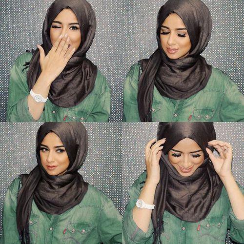 sohamt-hijab-tutorial- Tutorial hijab pesta simple…
