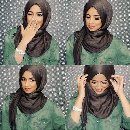 sohamt-hijab-tutorial- Tutorial hijab pesta simple…